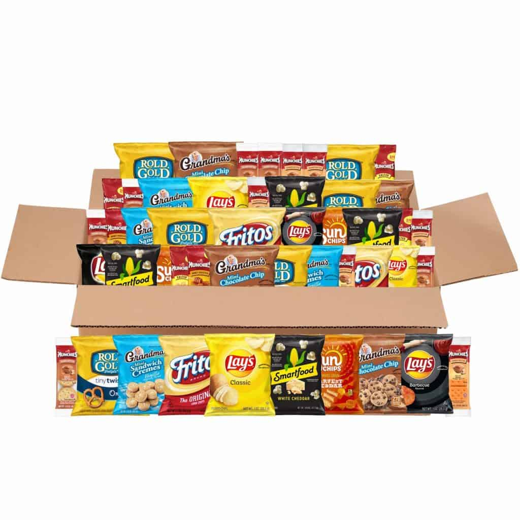 Mega Size Variety Snack Pack