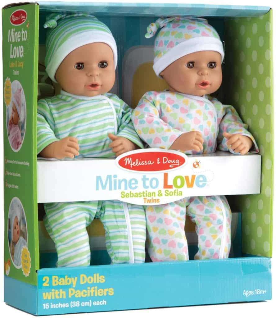Melissa & Doug Mine to Love Twins
