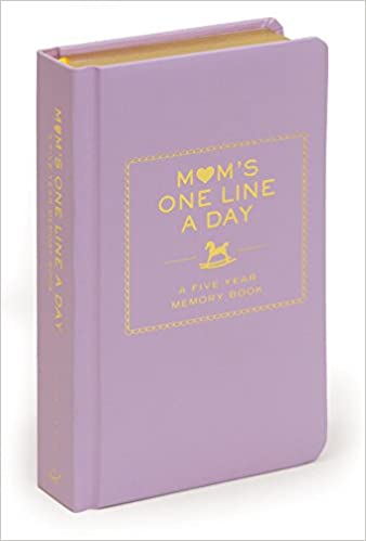 Mom's one line a day - A five-year memory book