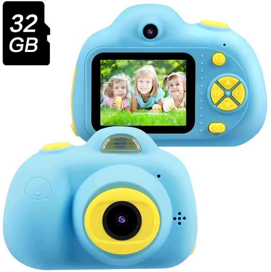OMWay Kids Digital Video Camera for Boys