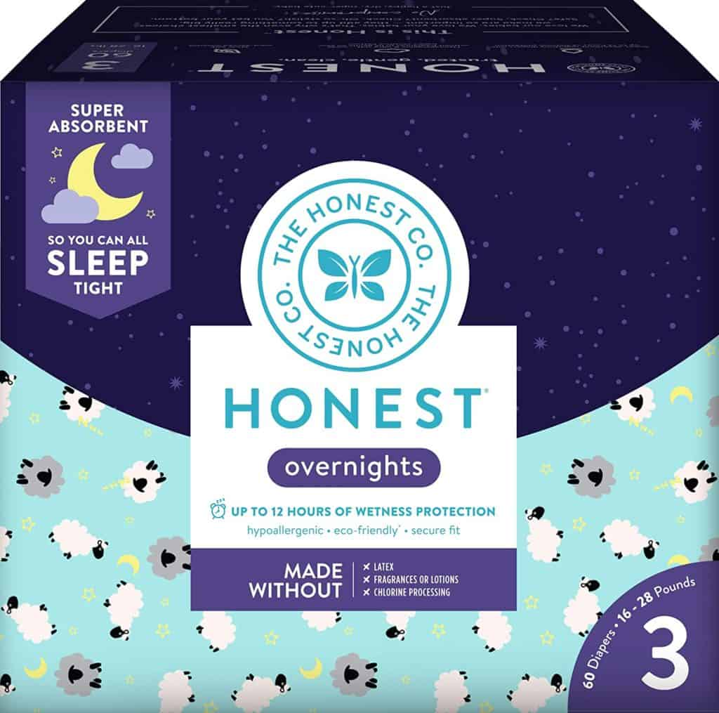 Overnight diapers - The Honest Company