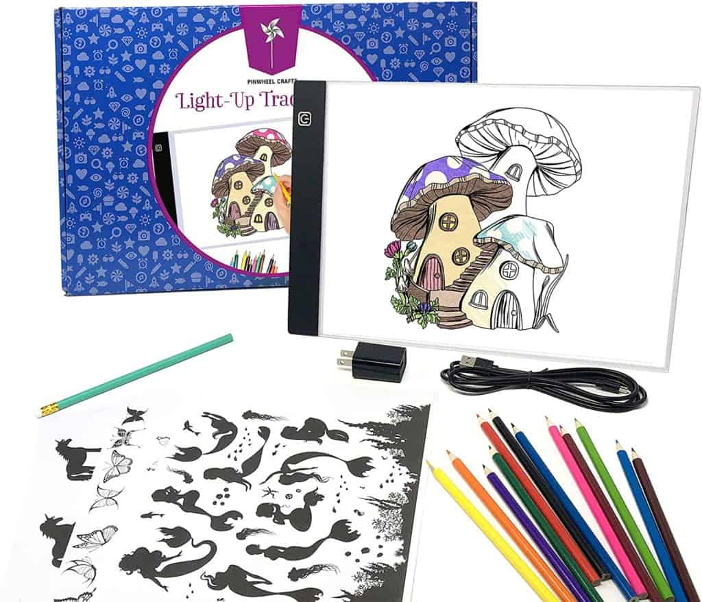 Pinwheel Crafts Light Up Tracing Pad