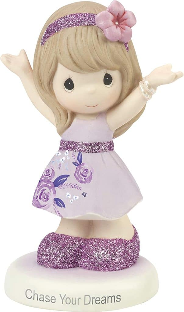 Precious Moments Inspirational Chase Your Dreams Porcelain Figurine