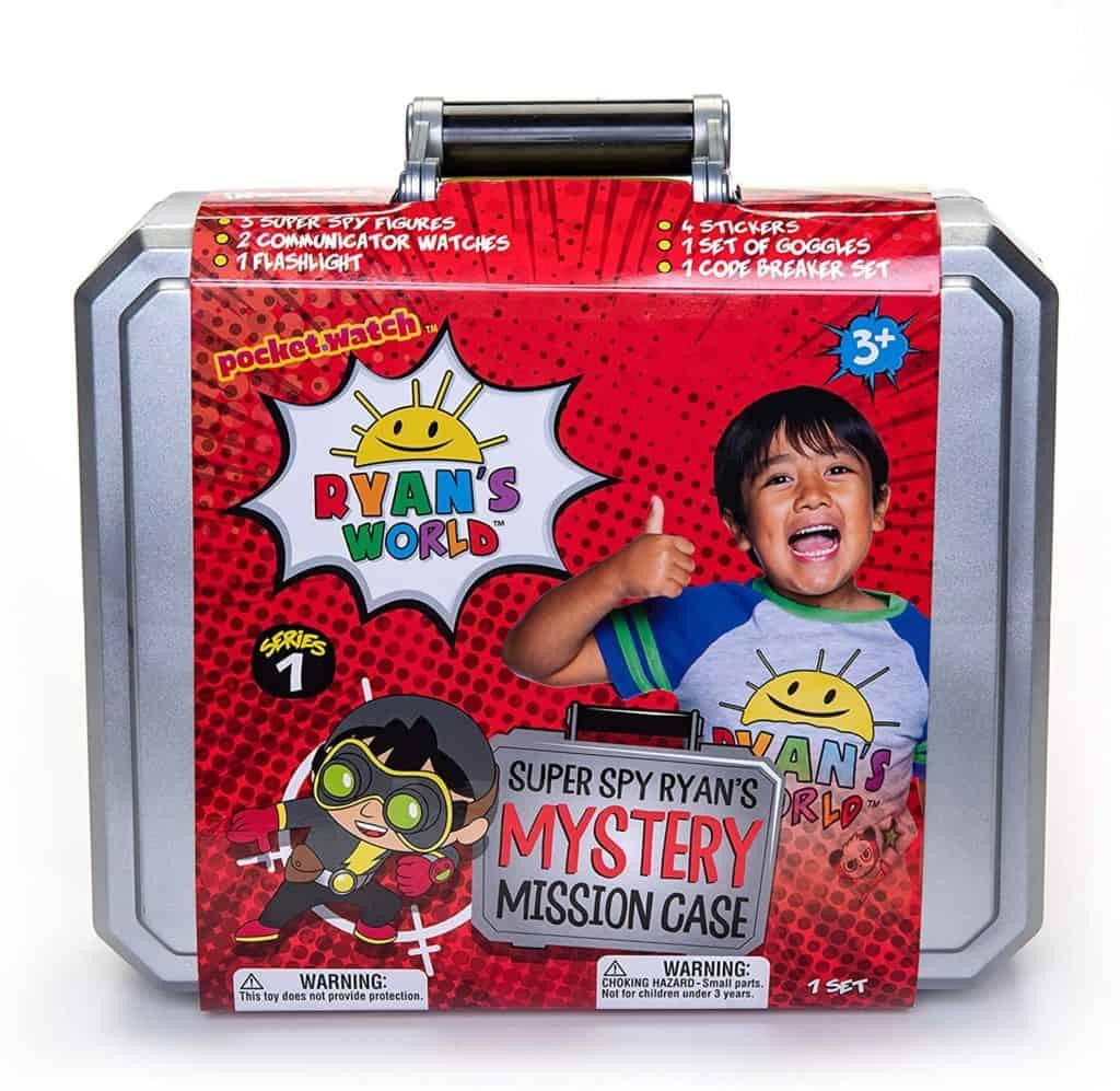 Ryan's Secret Agent Mystery Mission Case