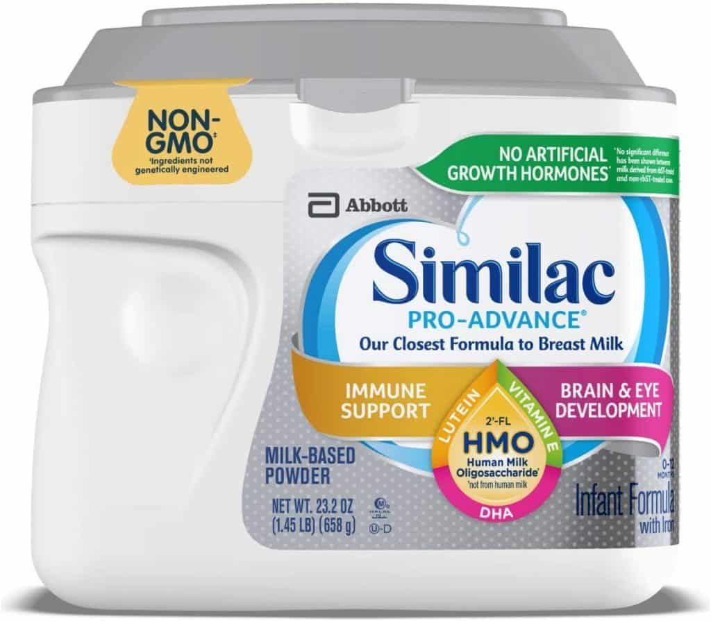 Similac 2′ -FL HMO Pro Advance Infant Formula