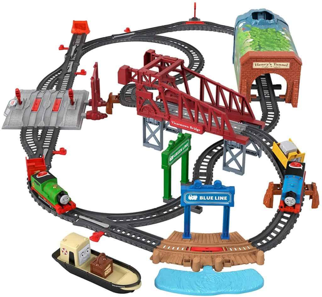 Talking Thomas & Percy Train Set