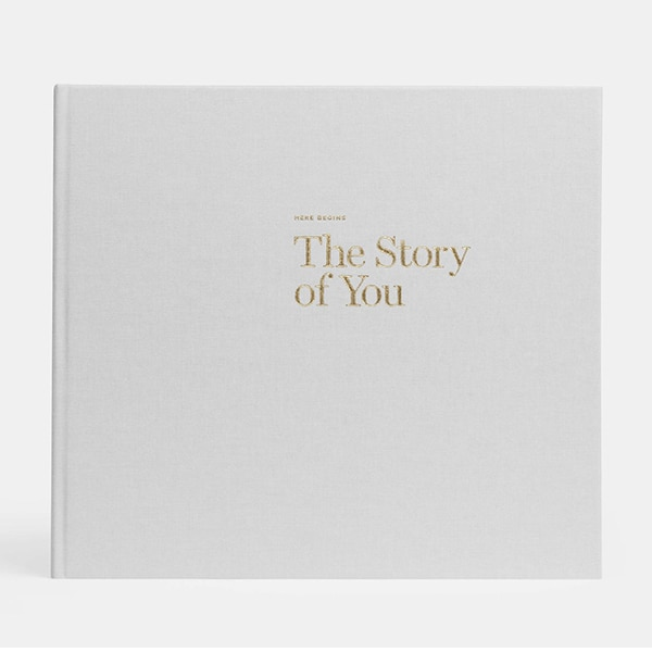 The story of you - An artifact uprising baby book