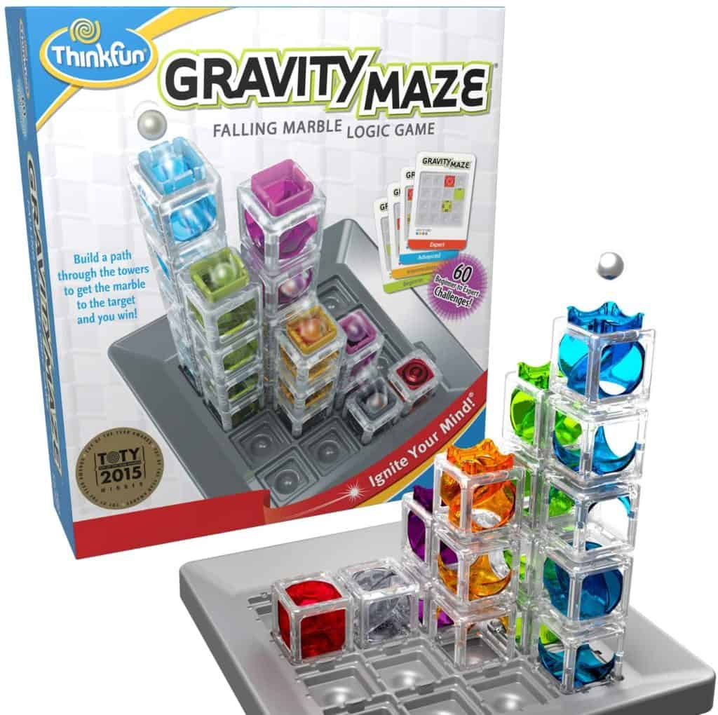 ThinkFun Gravity Maze Marble Run STEM Toy and Logic Game