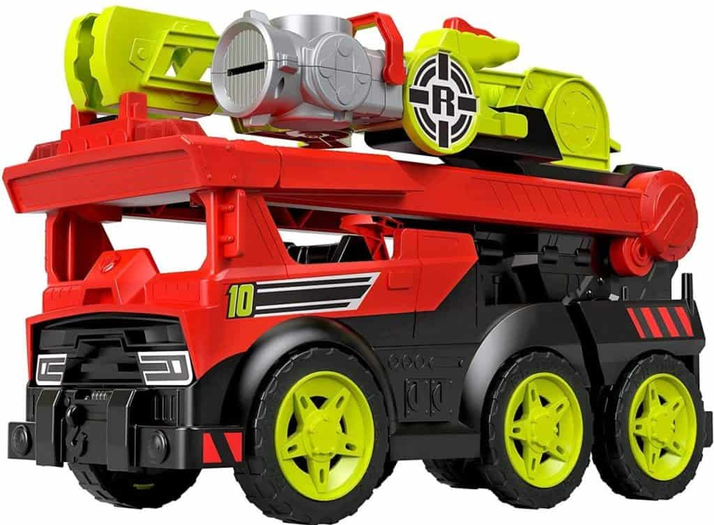 Transforming Fire Truck