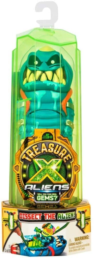 Treasure X Aliens – Dissection Kit with Slime, Action Figure, and Treasure