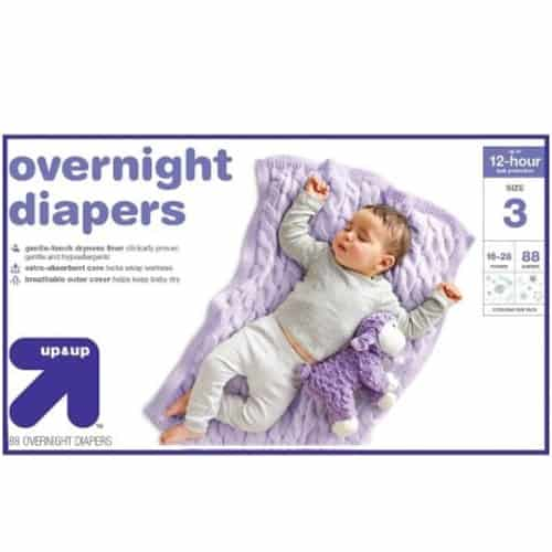 Up & Up overnight diapers