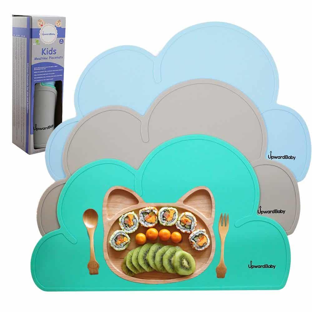 UpwardBaby silicone suction placemats set