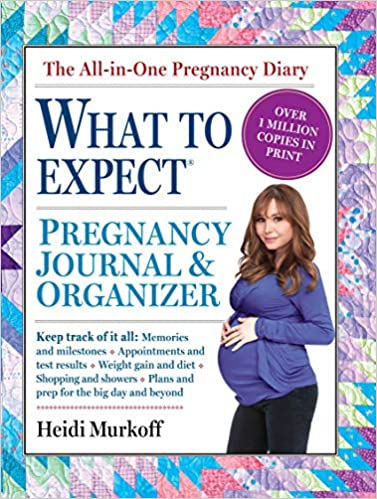 What to Expect - Pregnancy Journal and organizer by Heidi Murkoff