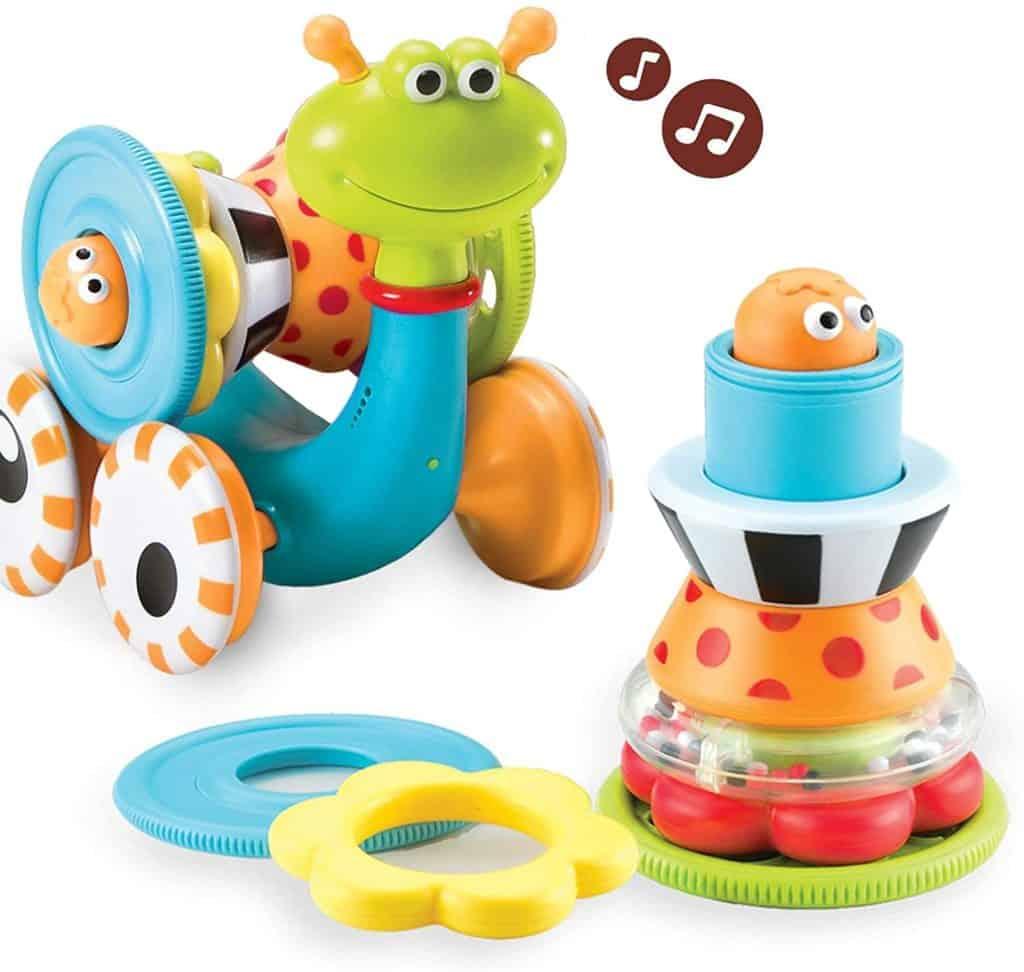 Yookidoo musical crawl N' go snail