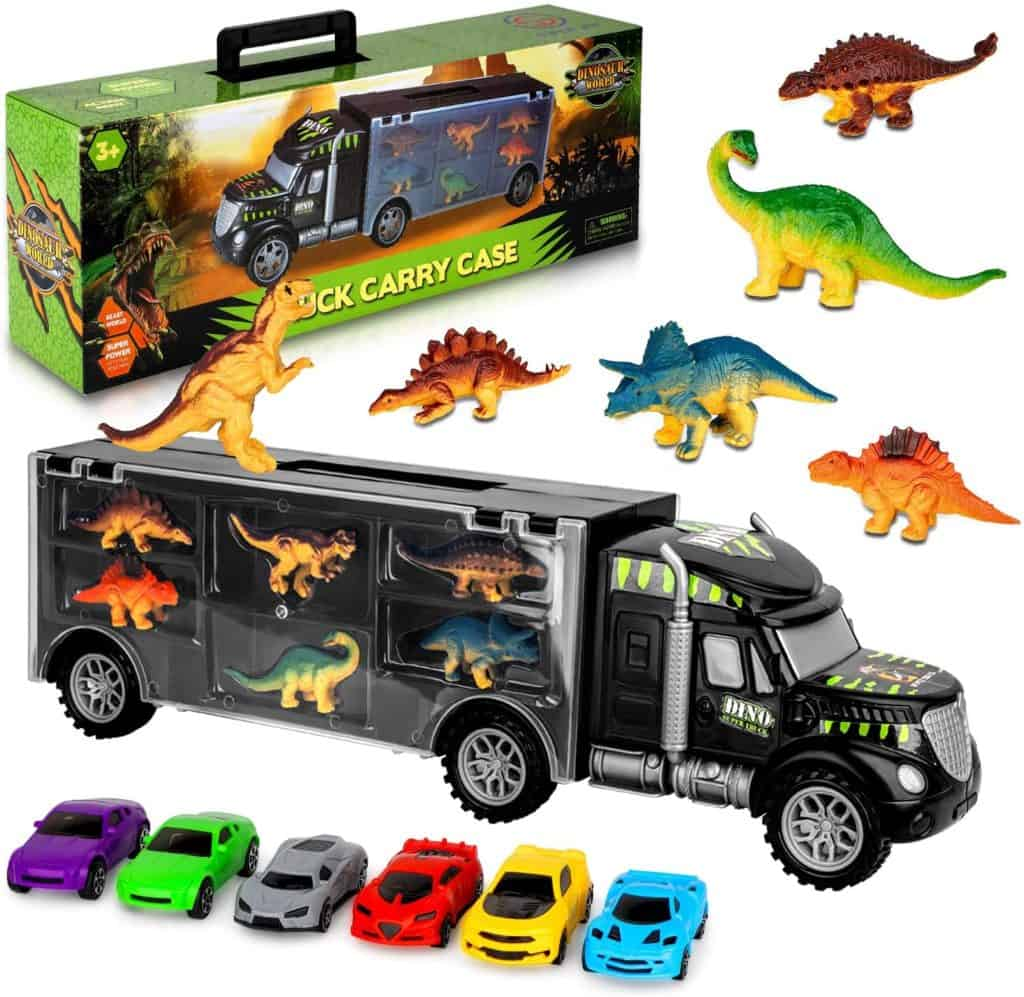 AOKESI transport carrier dinosaur truck
