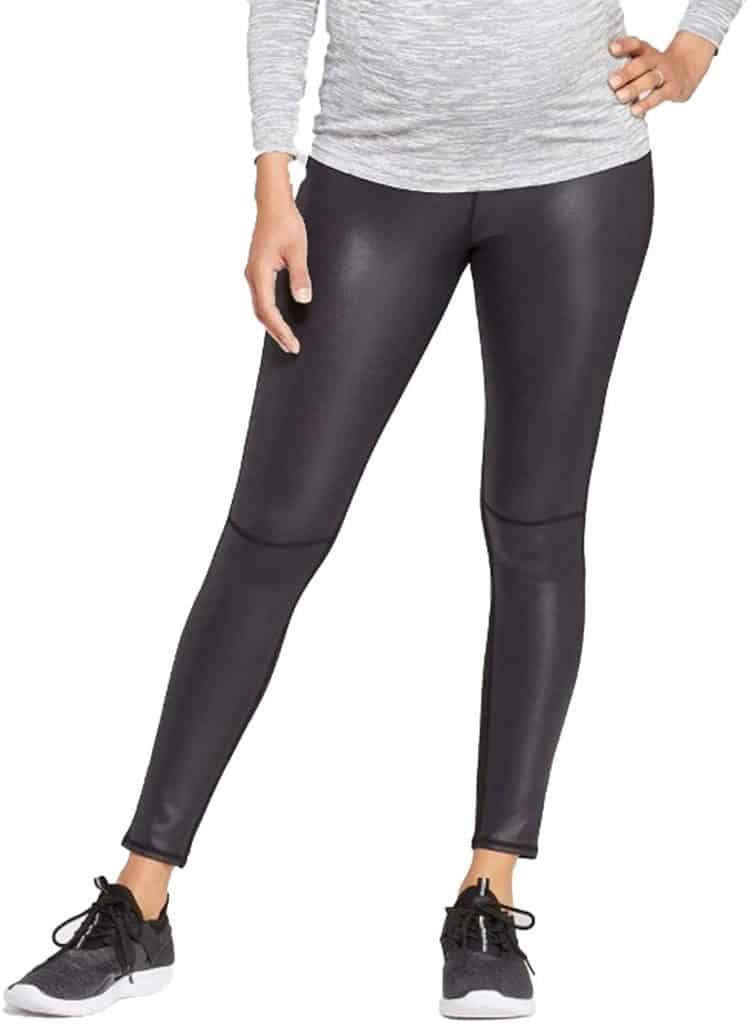 Active Legging Front Crossover Panel Maternity Leggings Parenthoodbliss