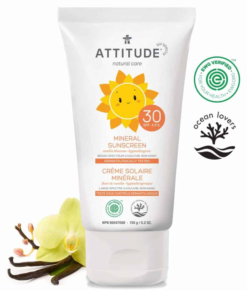 Attitude Baby Moisturizer Sunscreen SPF 30