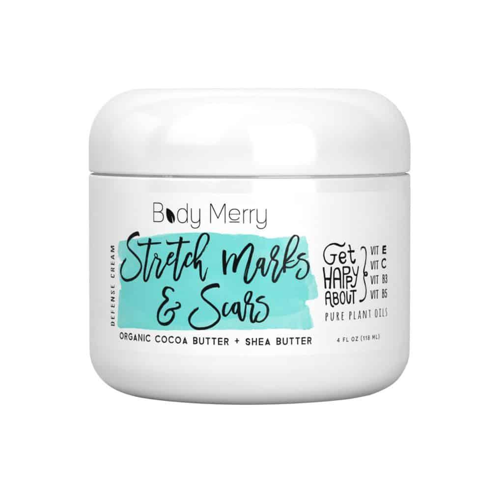 Body Merry Stretch Marks & Scars Defense Cream
