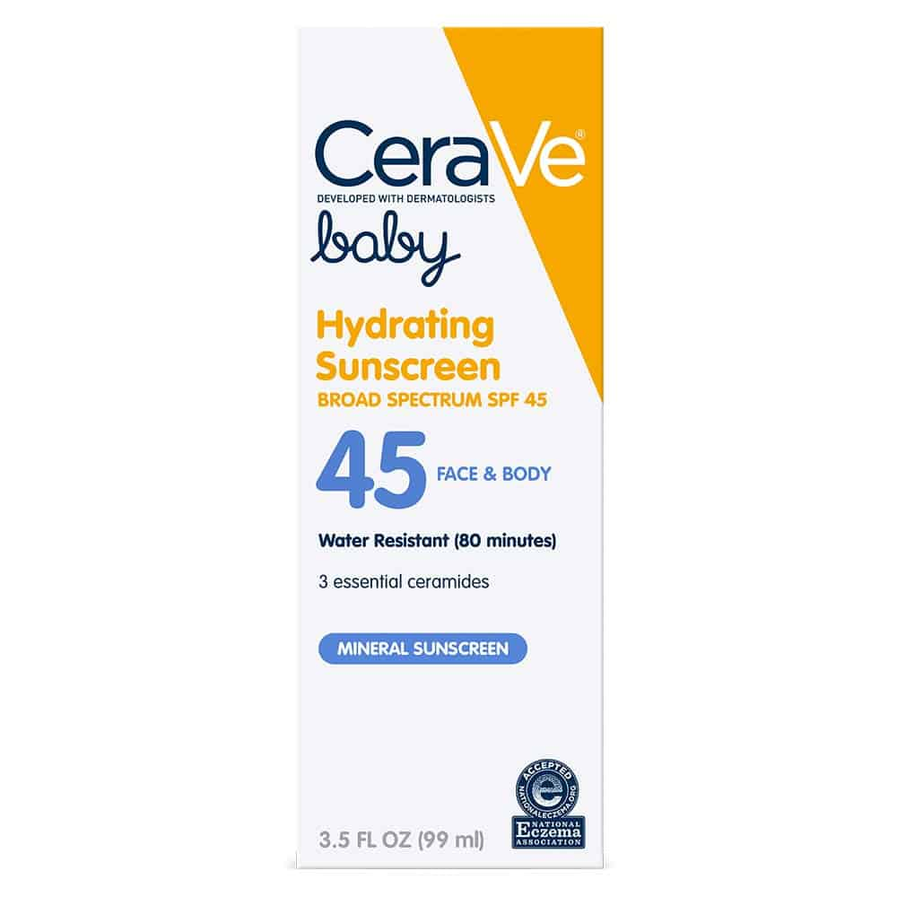 CeraVe Baby Hydrating Sunscreen SPF 45