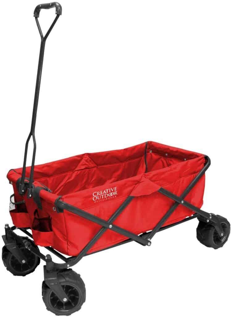 Creative Outdoor All-Terrain Folding Wagon