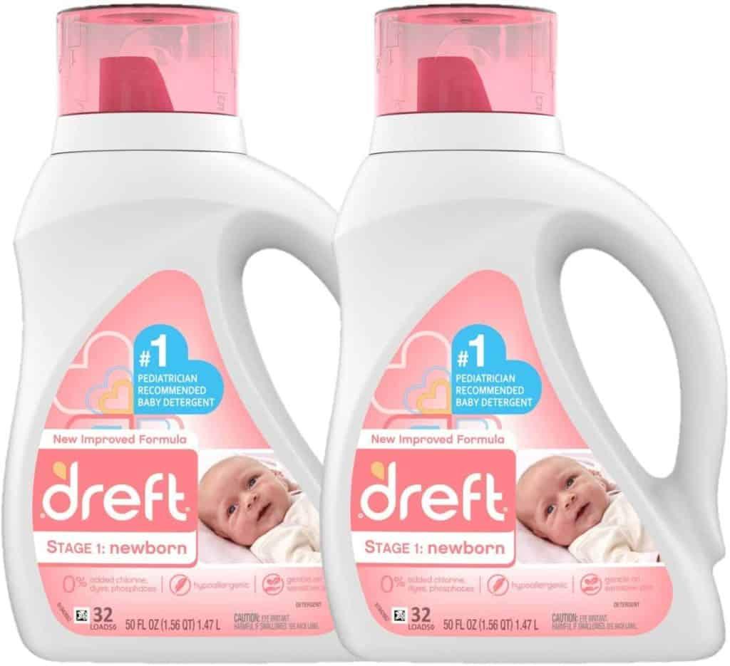 Dreft Stage 1 Newborn Liquid Best baby detergent Parenthoodbliss