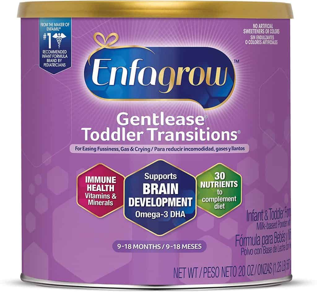 Enfagrow for newborns and toddlers