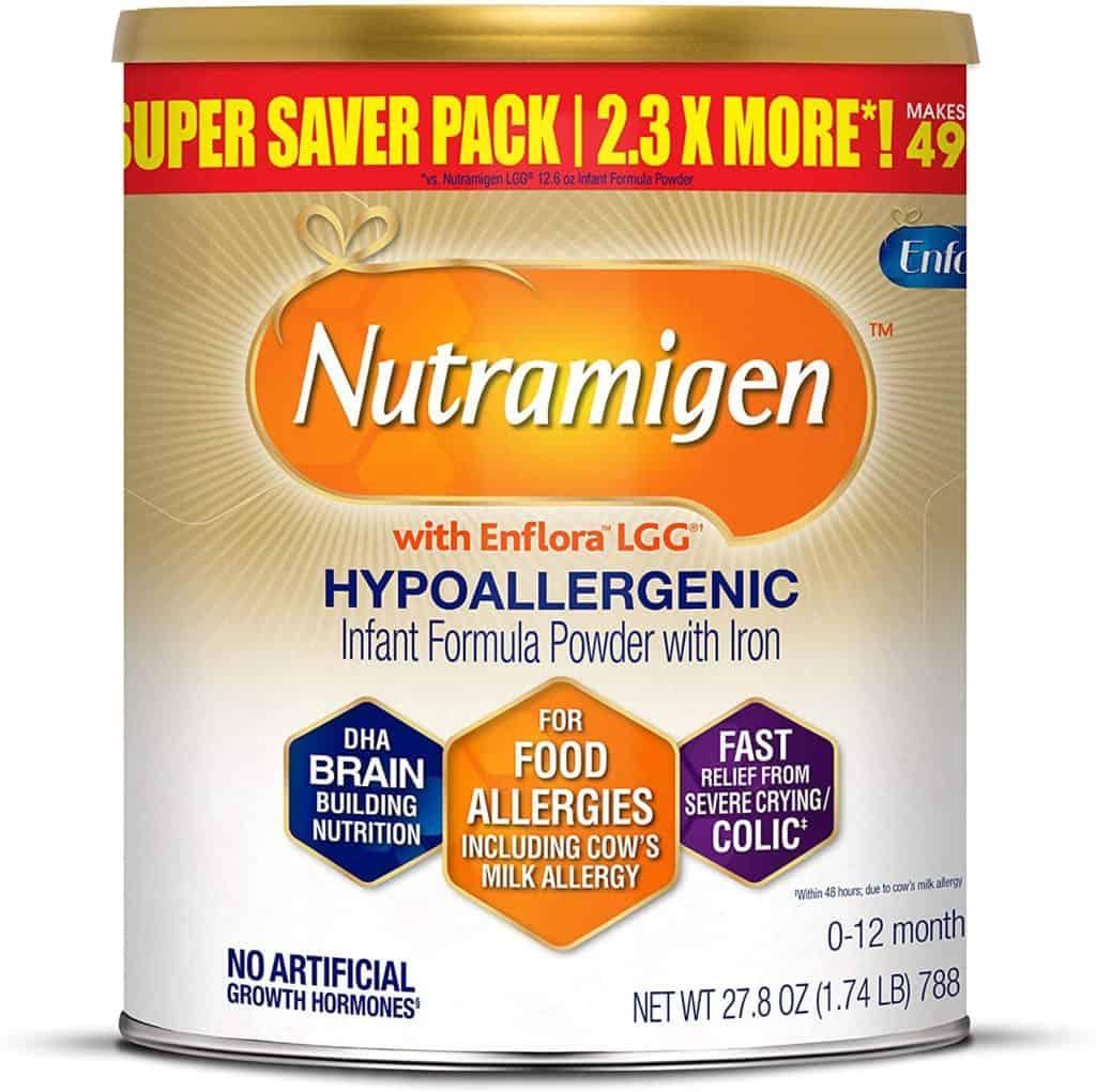 Enfamil's Nutramigen Hypoallergenic baby formula
