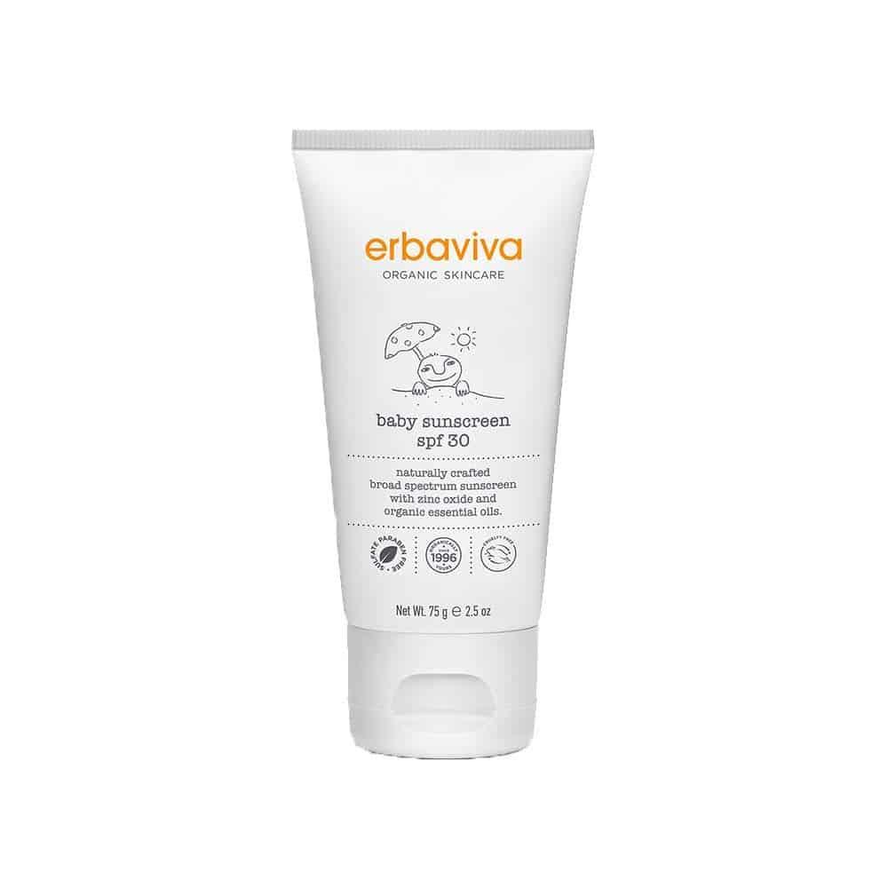 Erbaviva Organic Baby Sunscreen SPF 30 Parenthoodbliss