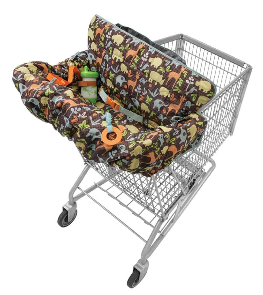 Infantino Play and Away and baby shopping cart cover