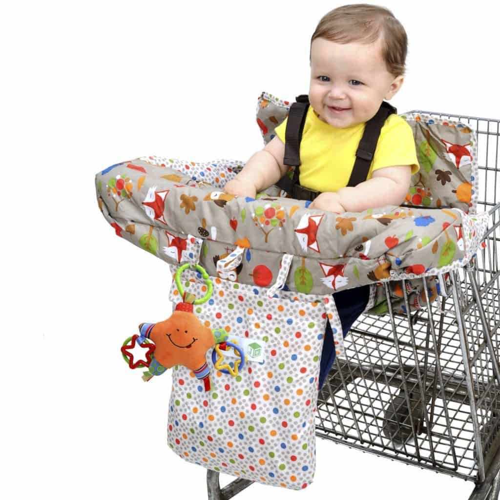 Jeep 2-in-1 baby shopping cart cover