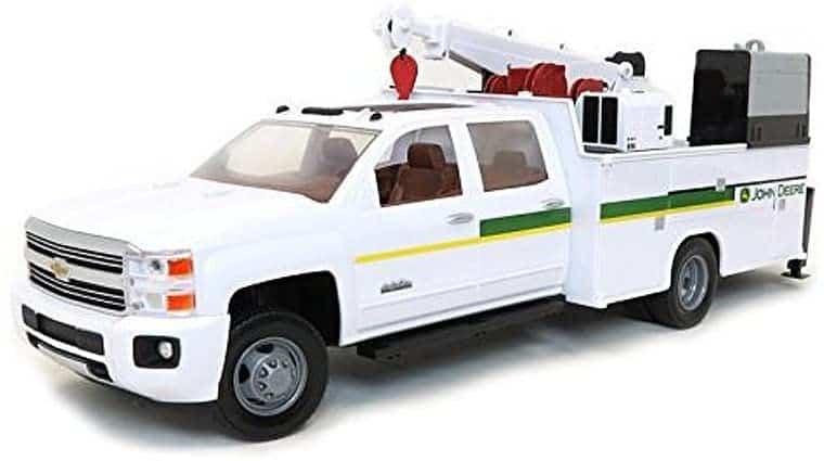 John Deere 1 16 big farm chevy 3500 service truck