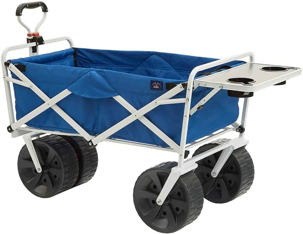 Mac Sports all-terrain collapsible baby wagon