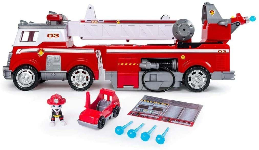 PAW Patrol rescue fire truck