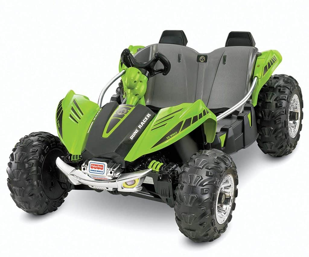 Power wheels green dune racer
