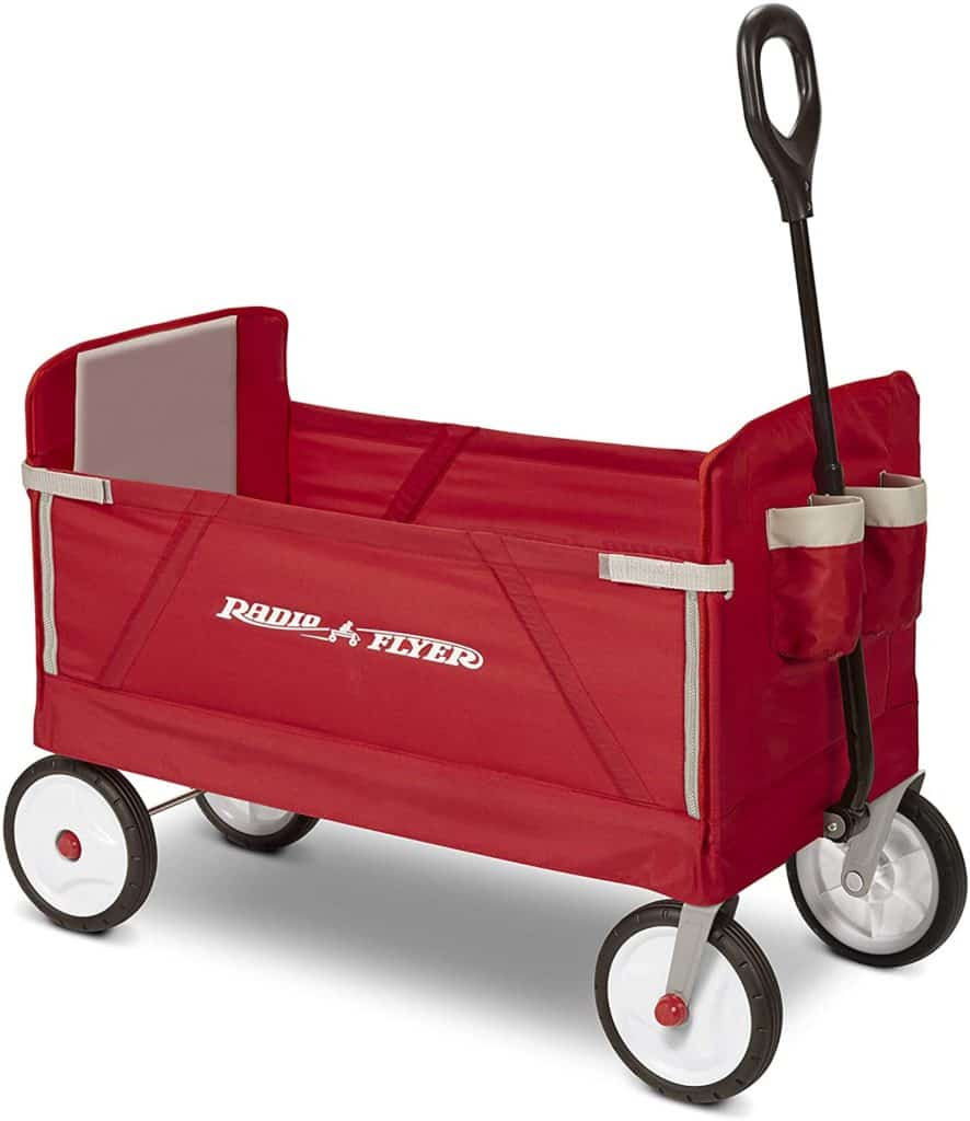 Radio Flyer 3-in-1 EZ folding wagon