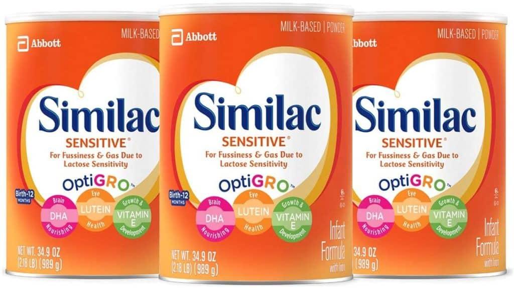 Similac sensitive baby formula