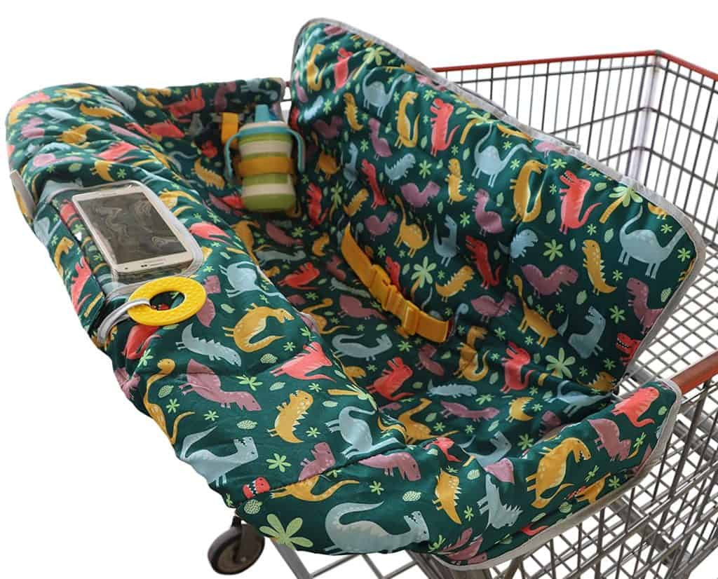 Suessie 2-in-1 baby shopping cart cover