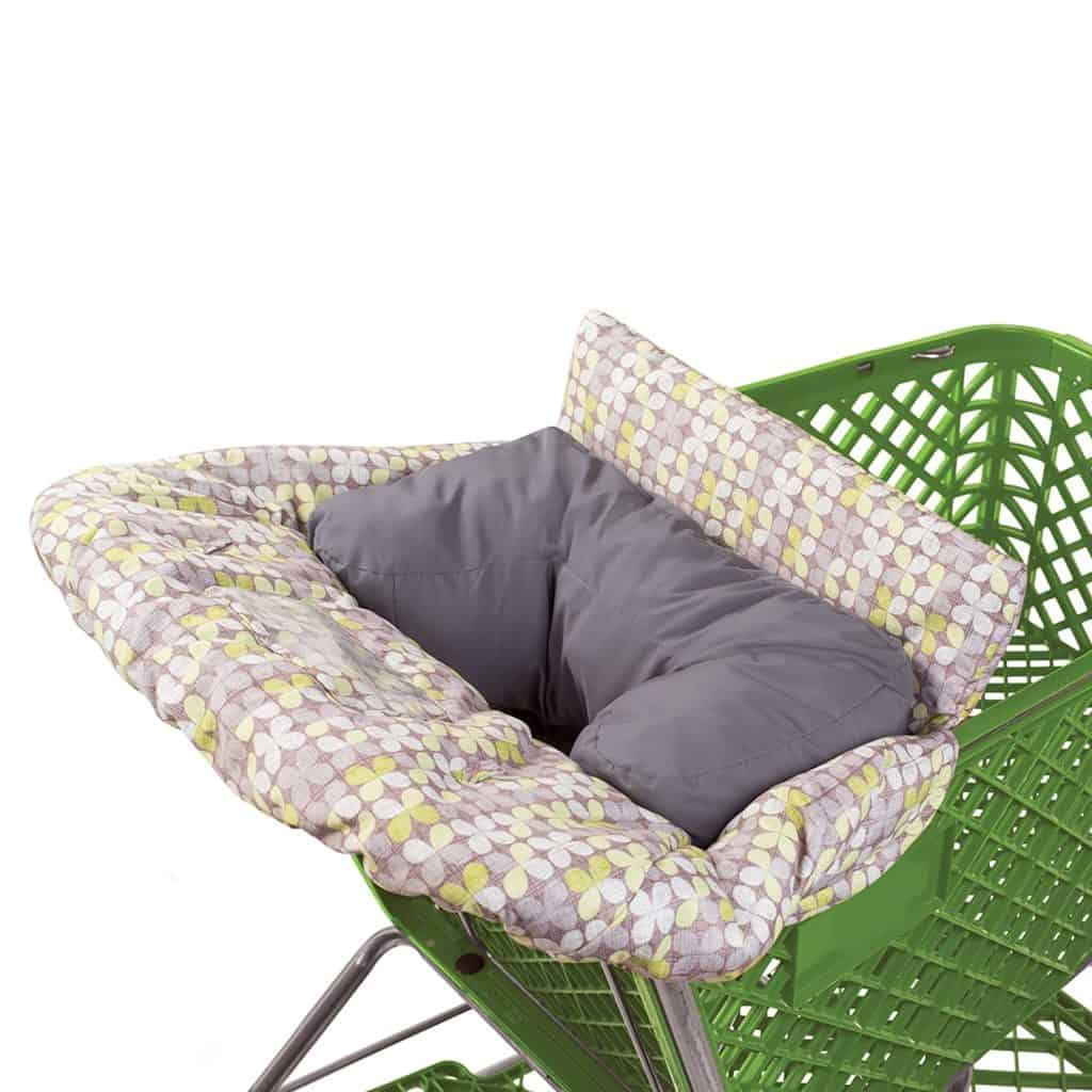Summer Infant 2-in-1 Cushy Seat Positioner and baby cart cover