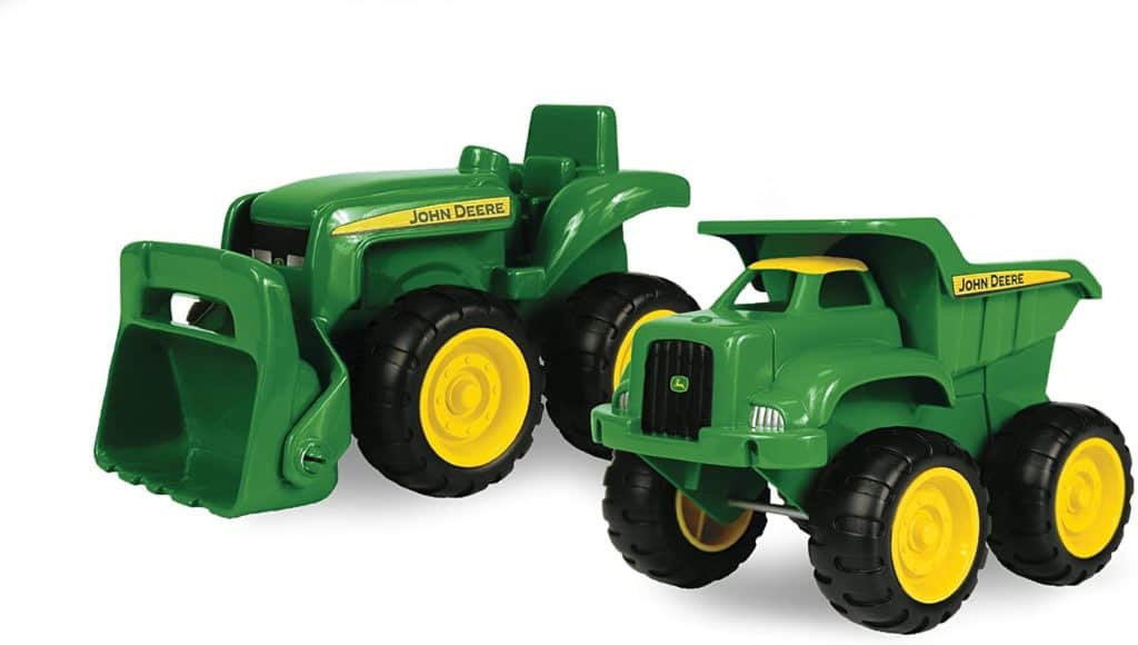 TOMY John Deere sandbox vehicle