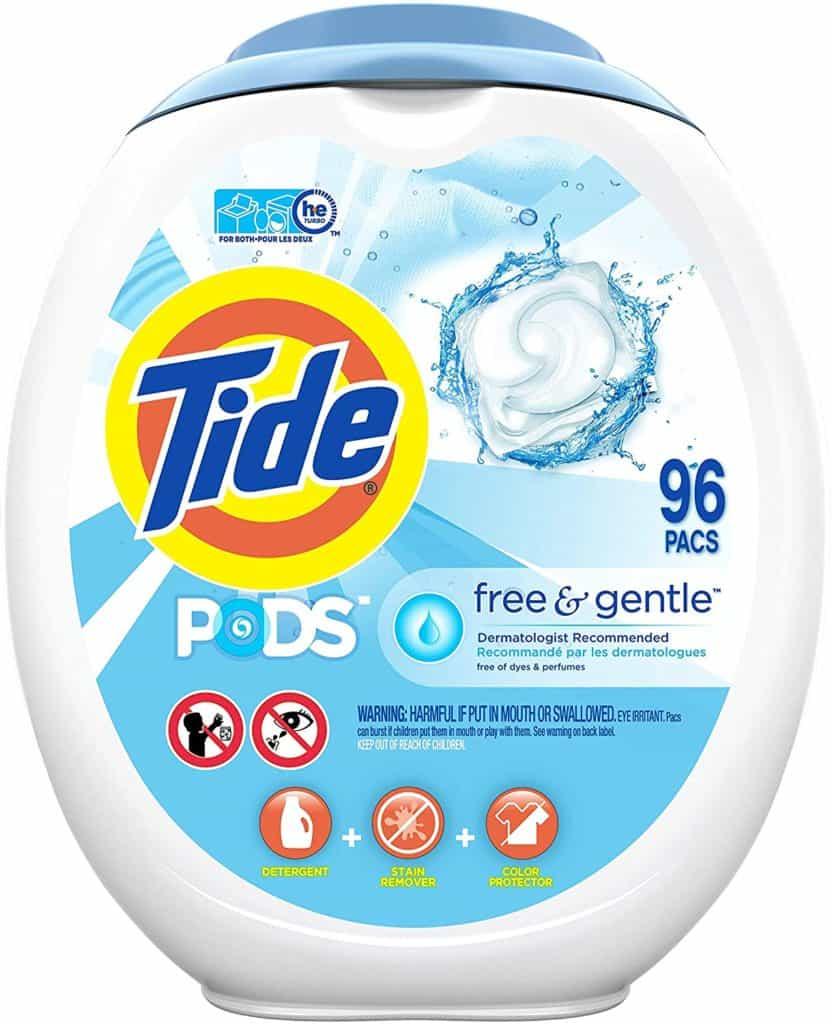 Tide Free and Gentle Liquid - Best baby detergent