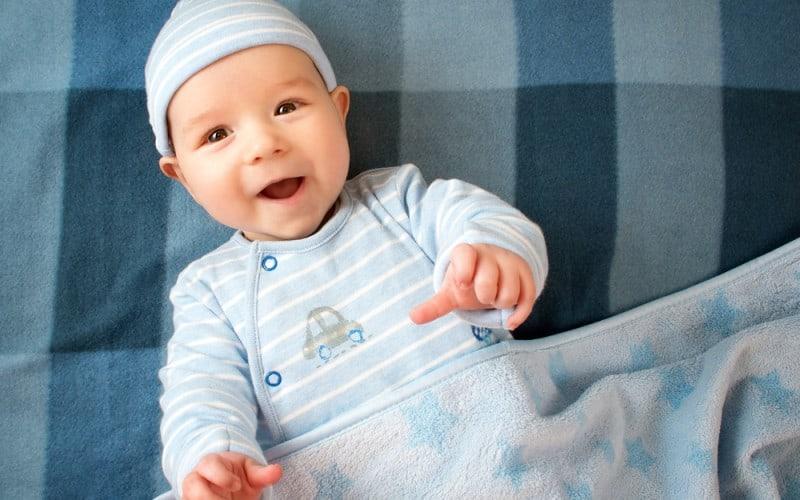 3-week-old baby