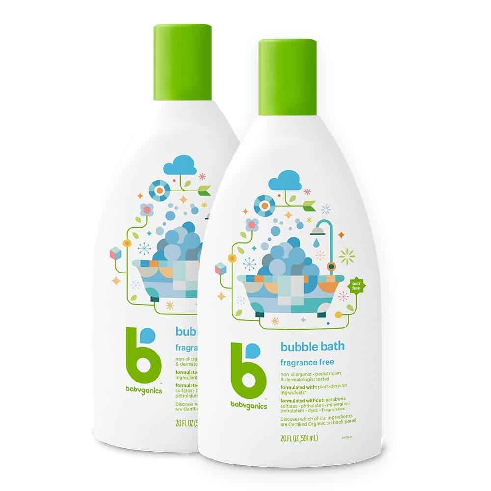 Best Fragrance-Free Babyganics Fragrance-Free Bubble Bath
