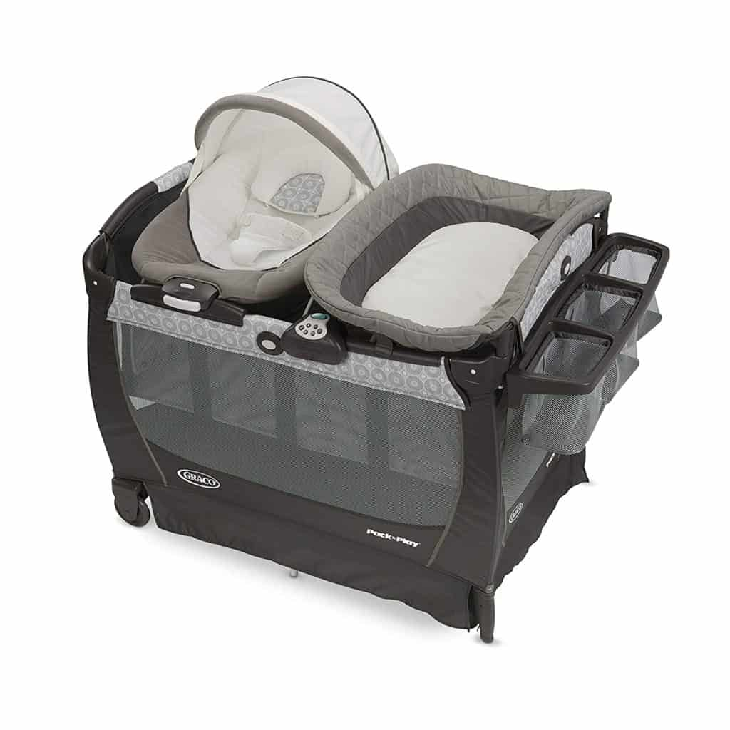 Best Playard With Changing Table Graco Pack 'n Play Snuggle Suite LX