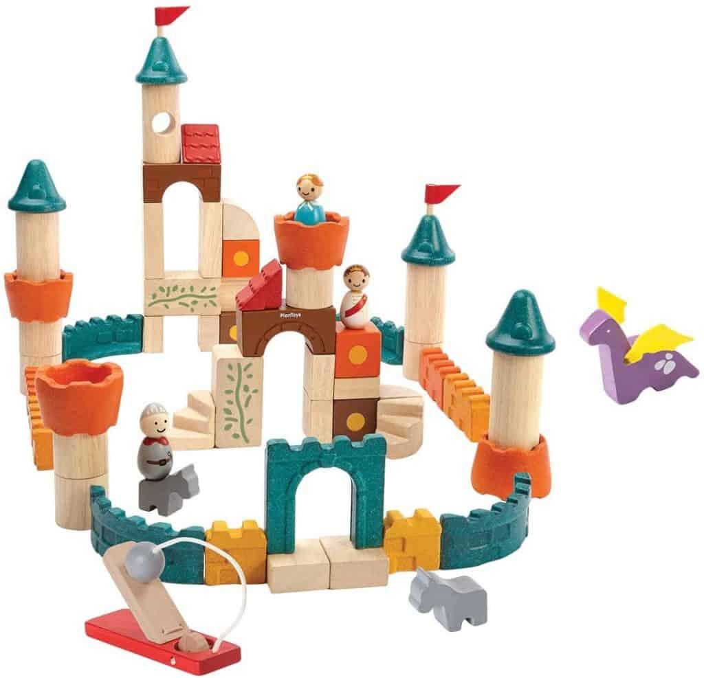 Best Wooden Building Blocks for the Imaginative Child PlanToys Fantasy Blocks Building Kit