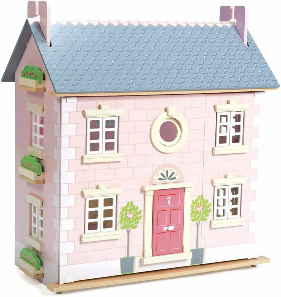 Best Wooden Dollhouse Bay Tree Dollhouse