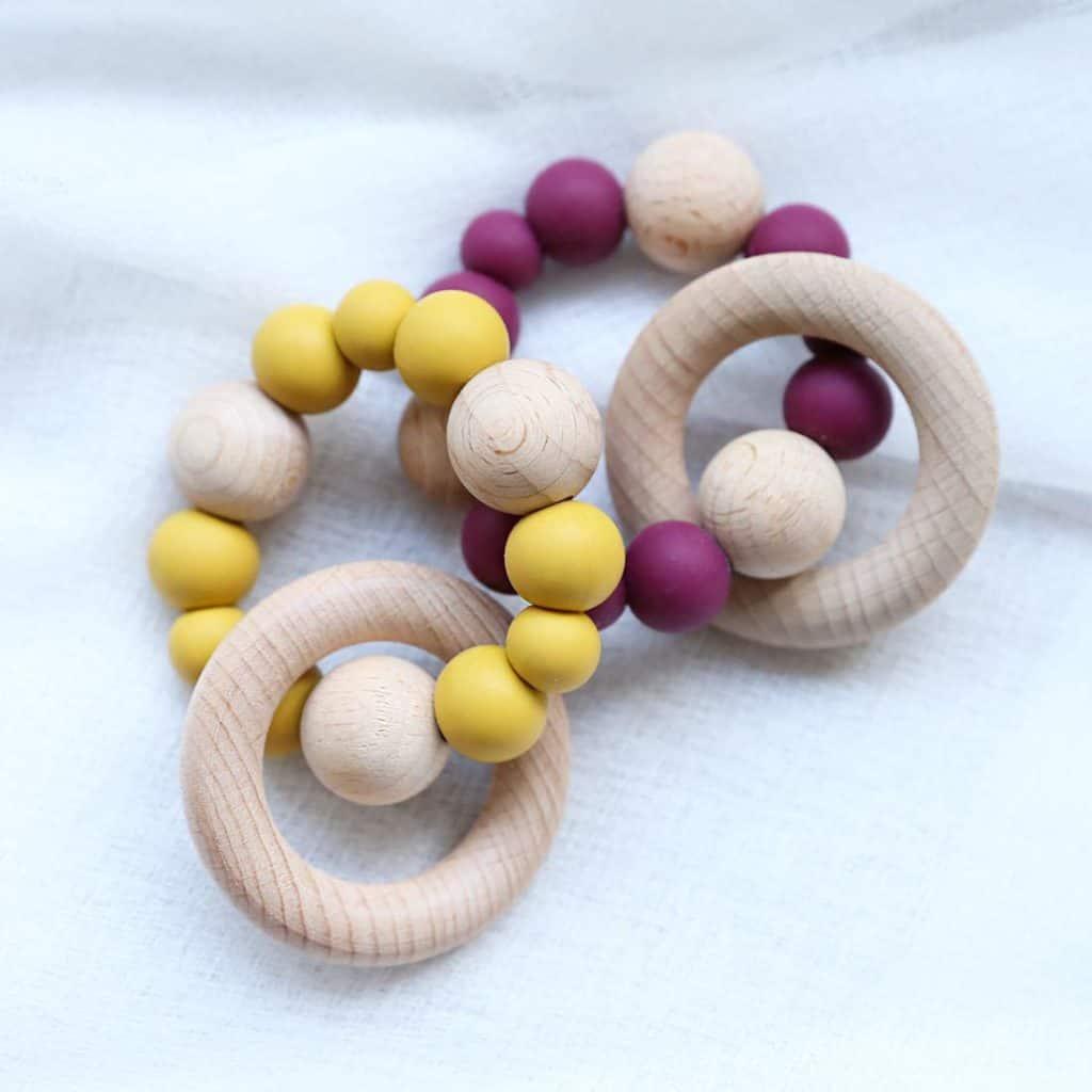 Best Wooden Teether Wooden Teething Bracelet