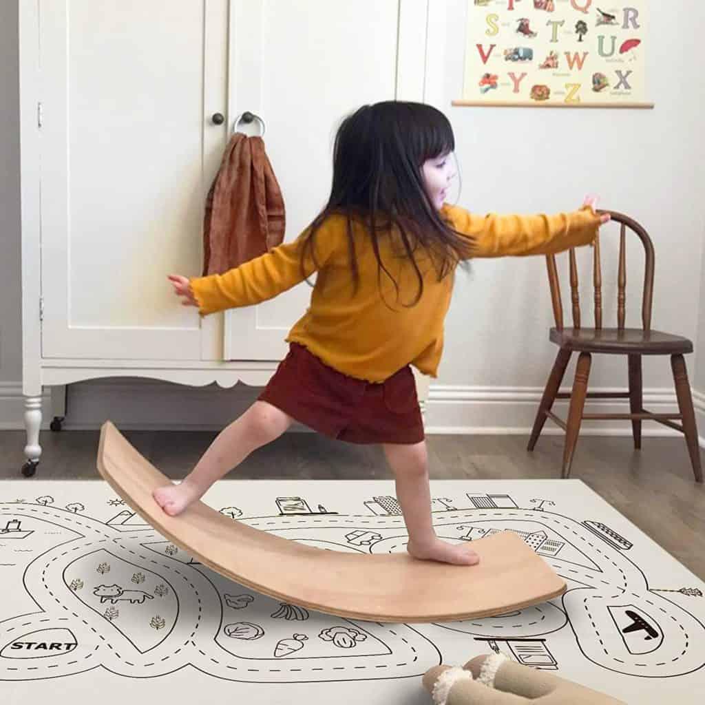 Best Wooden Wobbel Board Little Dove Balance Board Wobbel