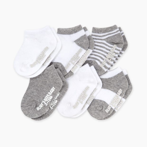 Burts Bees Baby Ankle Socks 6 Pack Parenthoodbliss