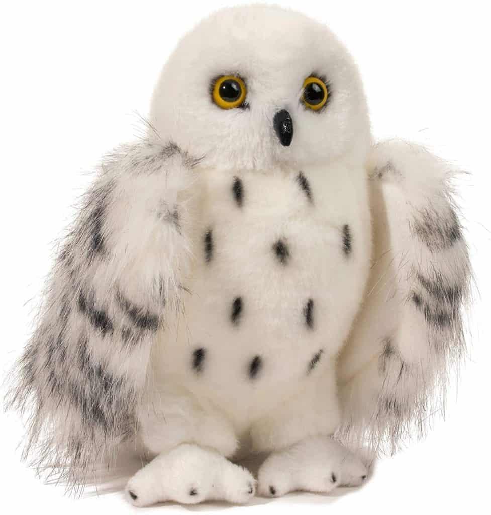 Douglas Wizard Snowy Owl Plush