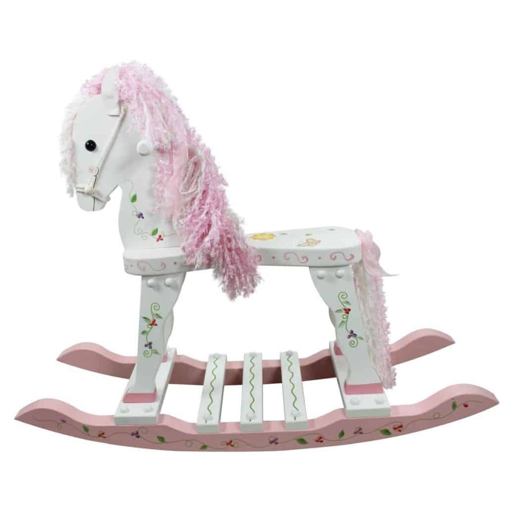 Fantasy Fields Princess Frog Wooden Rocking Horse Parenthoodbliss